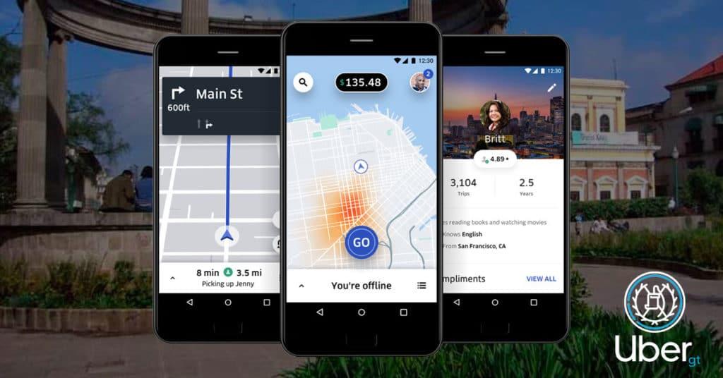 app uber Guatemala